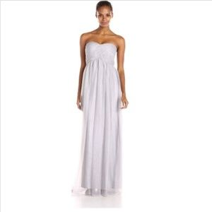 Donna Morgan Strapless Tulle Gown Size 8 Nwt